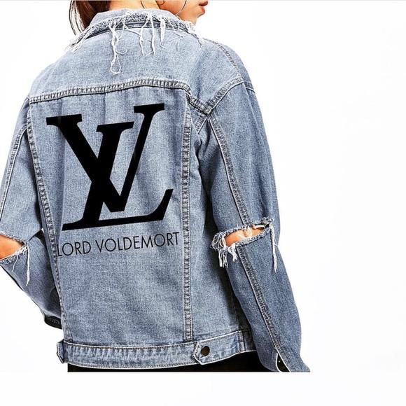 "ac6b652f2 Women's denim Jacket ""LV"" Boutique"